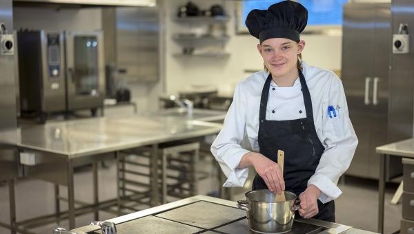Kokin ammatti sopii innokkaalle kokkaajalle