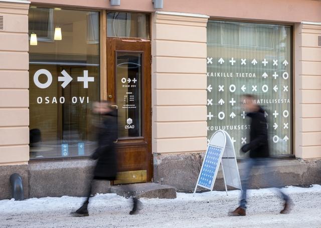 OSAO Ovi –hakijapalvelu palvelee Oulun keskustassa osoitteessa Pakkahuoneenkatu 10.