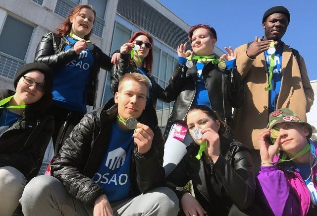 OSAOn SAKUstars-kilpailijat menestyivät Kokkolassa.