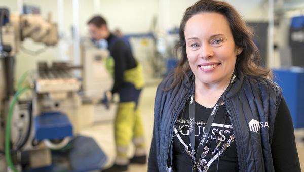 OSAOn opo Maria Andersen pokkasi #Uusiamis-palkinnon