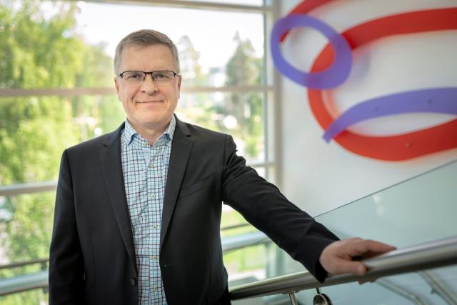 Kuntayhtymäjohtaja-rehtori Jarmo Paloniemi.