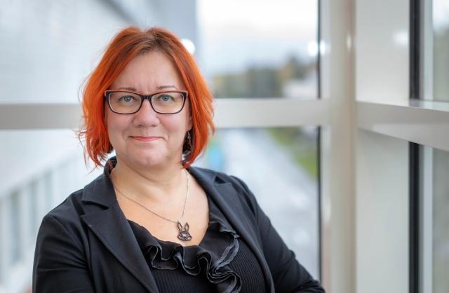 Kehittämisjohtaja, vararehtori Raija Näppä.