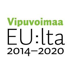 Logo, jossa teksti Vipuvoimaa EU:lta 2014-2020
