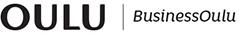 Logo, jossa tekstit Oulu ja Business Oulu