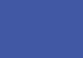 Sinisillä viivoilla ja pisteillä rakennettu kerrostalon kuva, jonka vieressä sinisillä viivoilla piirretty puu.